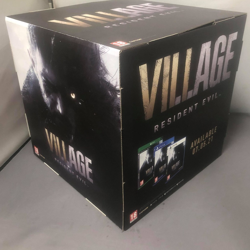 Product photo for Collectable Resident Evil Village Official Merchandise Cube Box