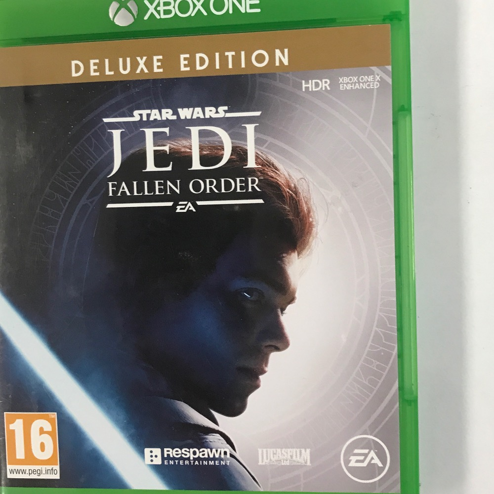 Product photo for Microsoft  jedi deluxe Xbox one