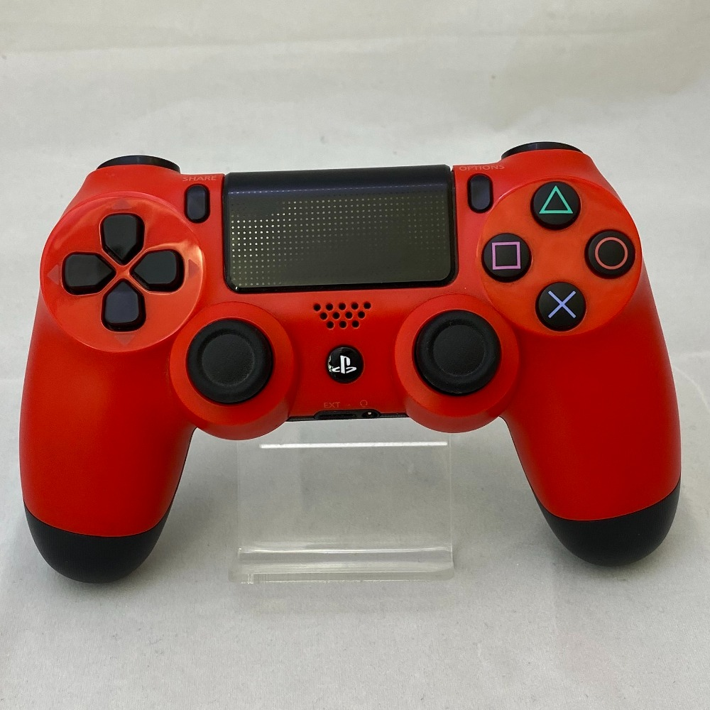 Product photo for Sony Playstation 4 Controller - Magma Red