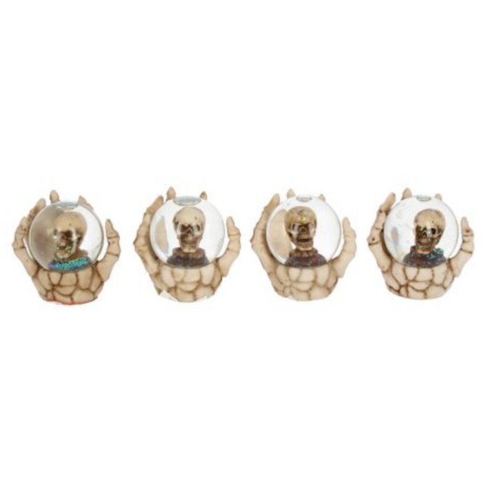 Product photo for The Forgotten - Small Skull Snow Globes