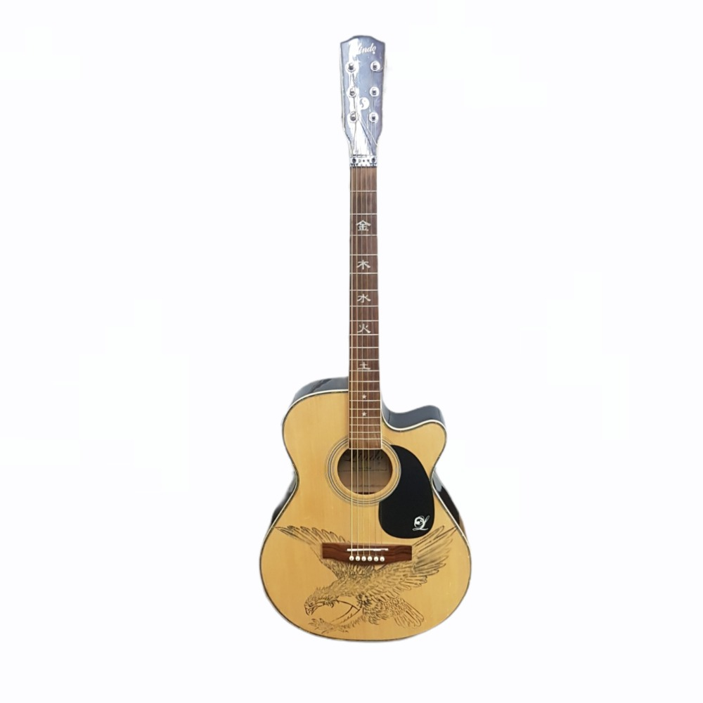 Product photo for Lindo Semi Acoustic Guitar