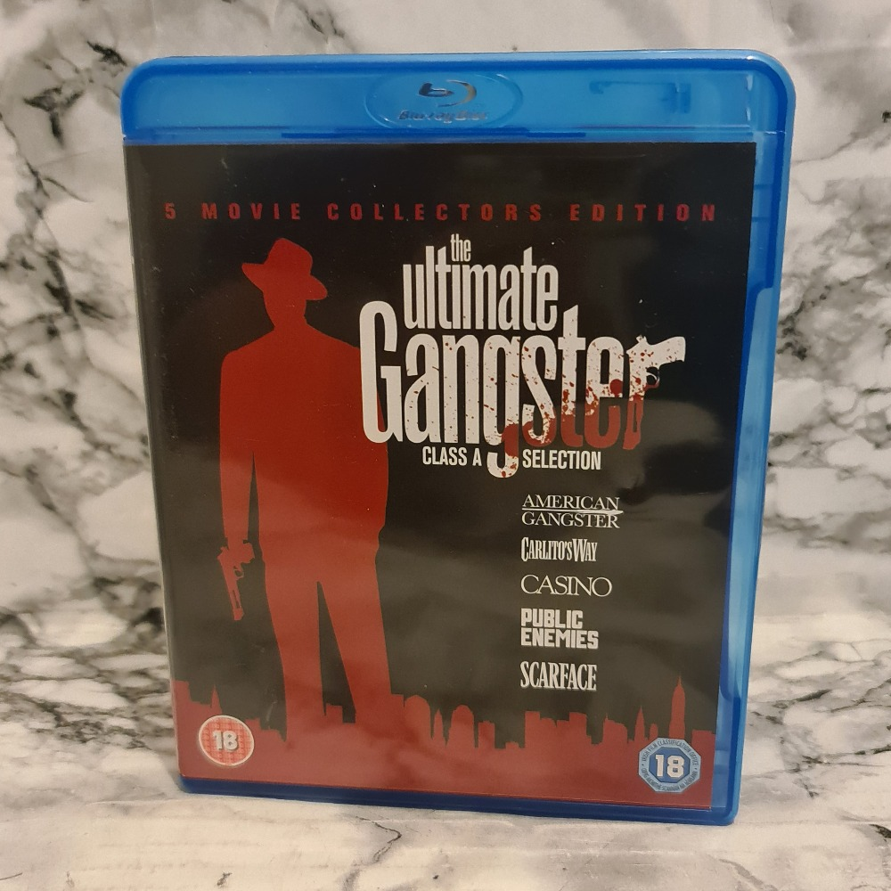 Product photo for The Ultimate Gangster Box Set - 5 Movie Collectors Edition - Bluray