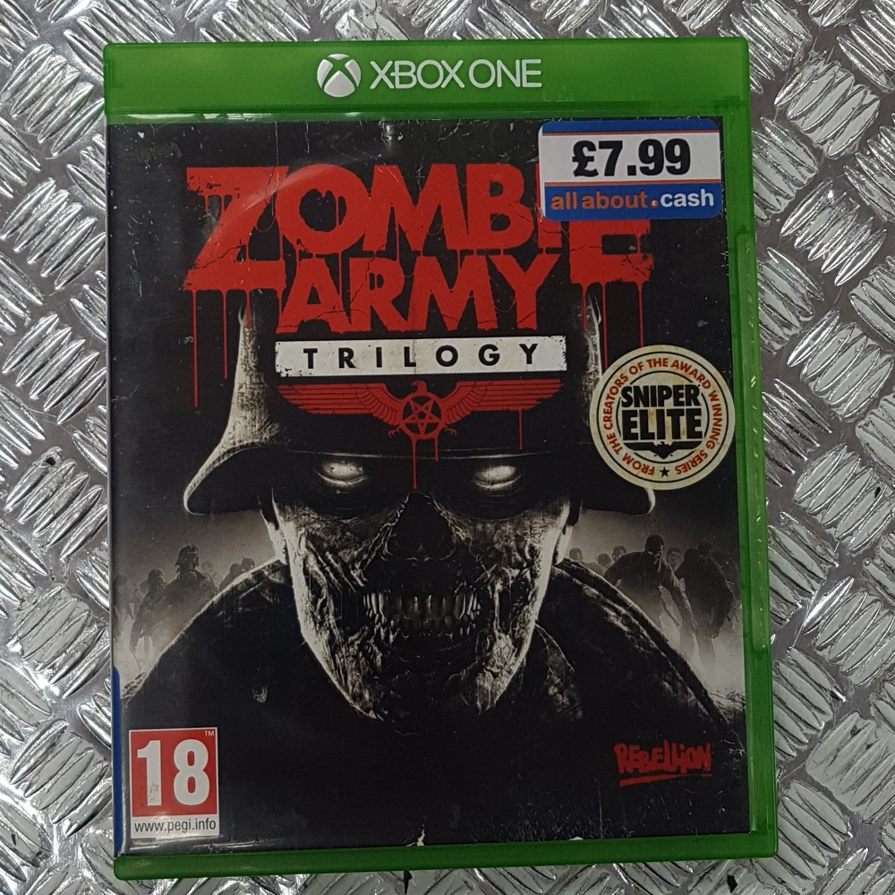 Product photo for Zombie Army: Trilogy (XBOX ONE)
