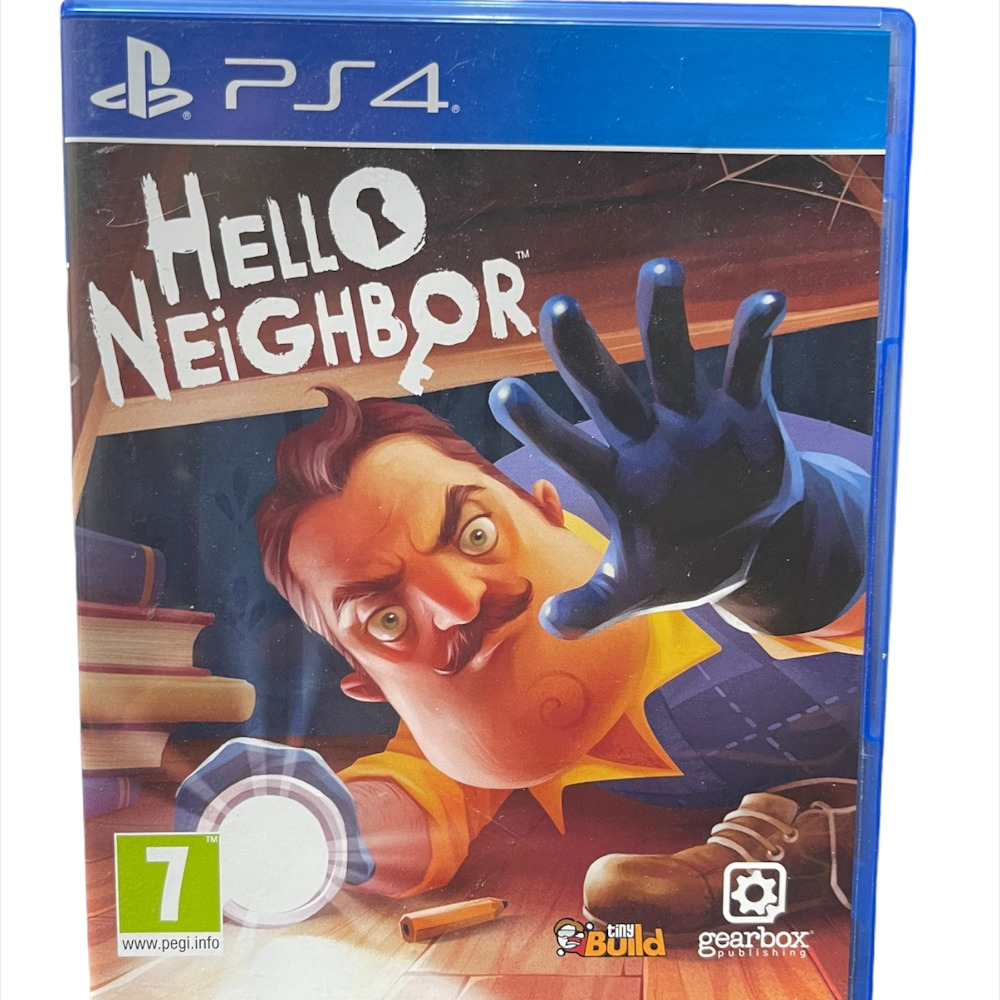 Product photo for PS4 Game- Hello Neighbour