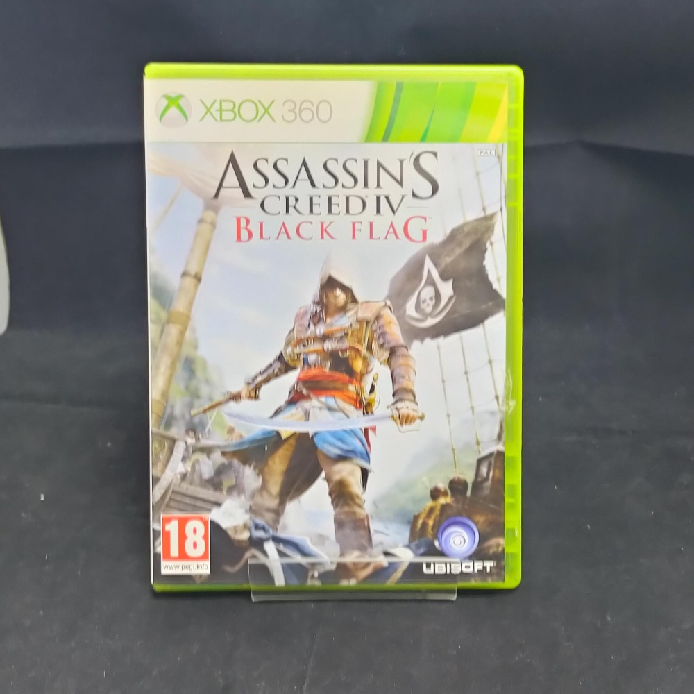 Product photo for xbox 360 game Assassins Creed Black Flag