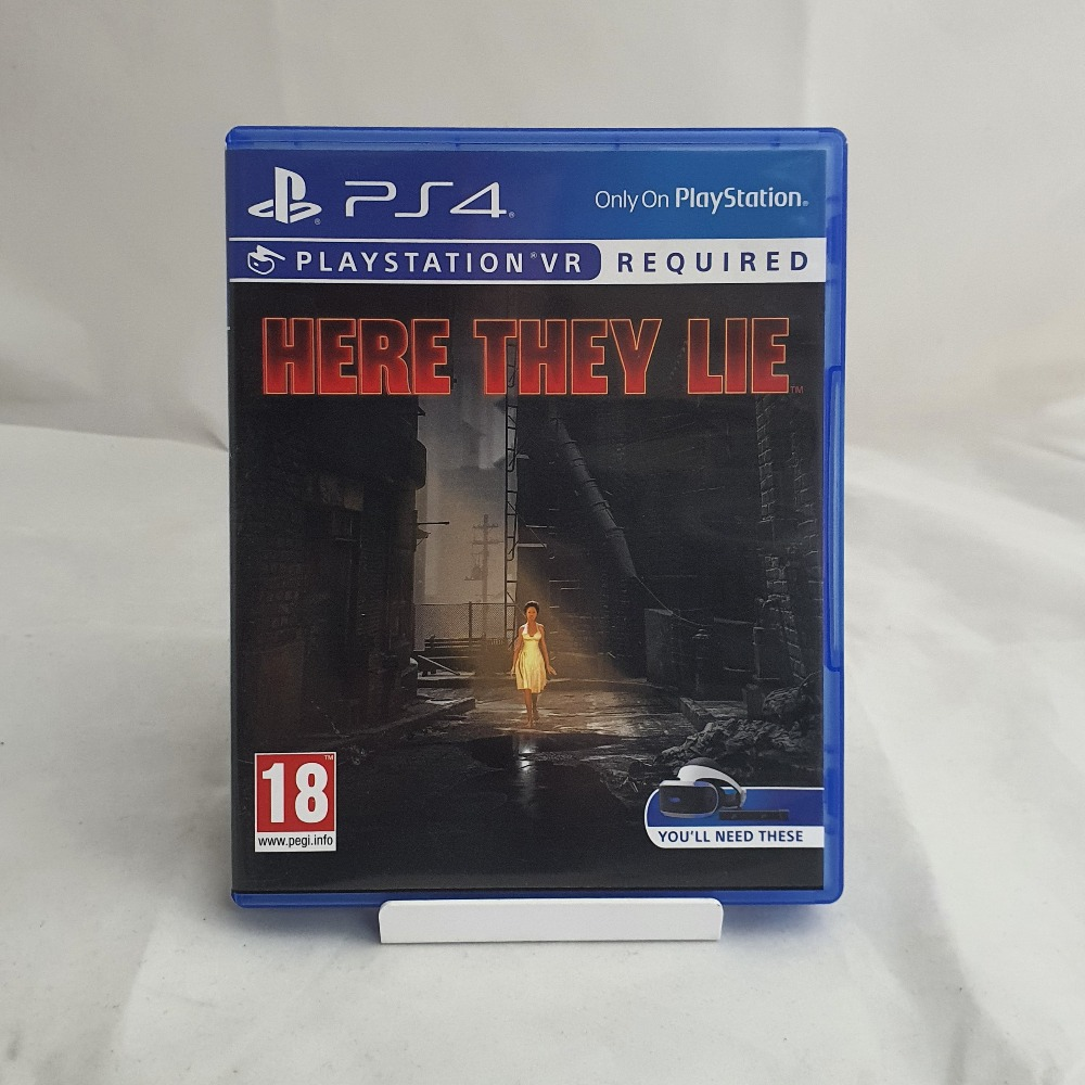 Product photo for PS4 VR GAME  Here They Lie