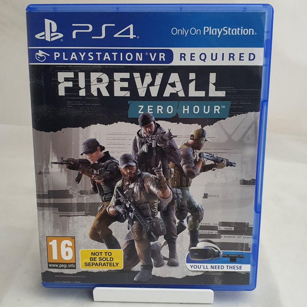 Product photo for PS4 VR Game Firewall Zero Hour