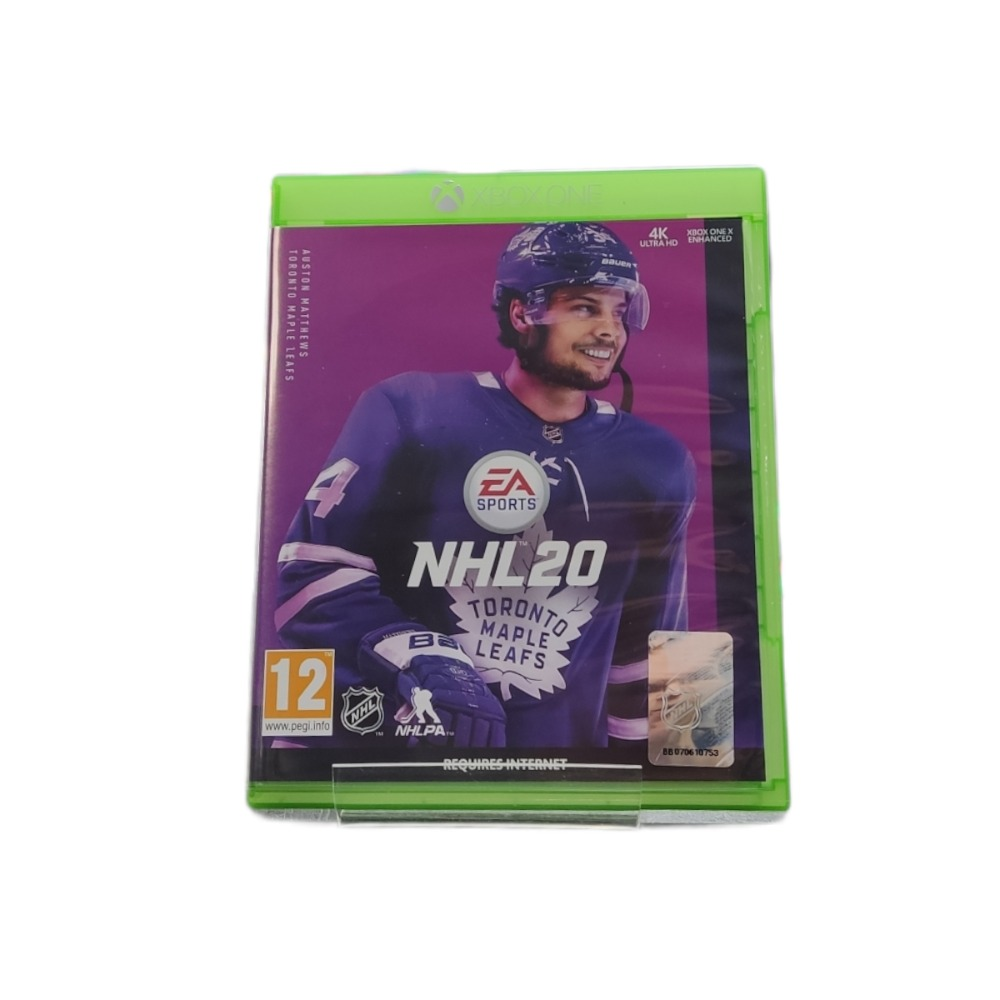 Product photo for  Microsoft Xbox one game NHL 20