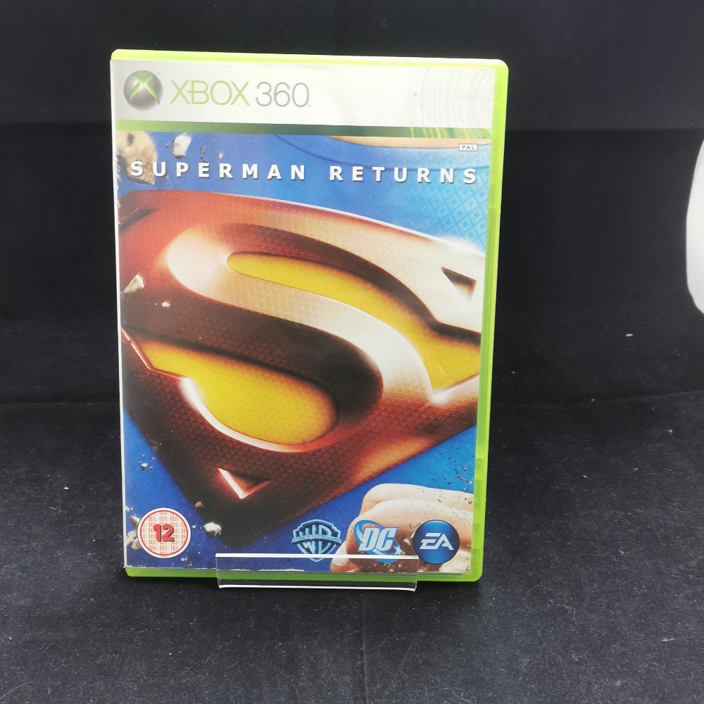 Product photo for xbox 360 game Superman Returns