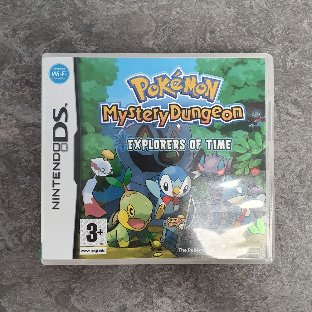 Product photo for Pokémon Mystery Dungeon Explorers of Time (DS)