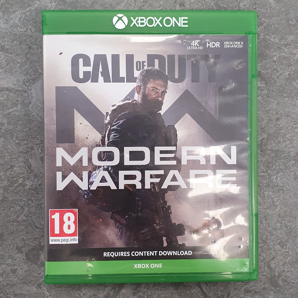 Product photo for Call of Duty Modern warfare (Xbox One)
