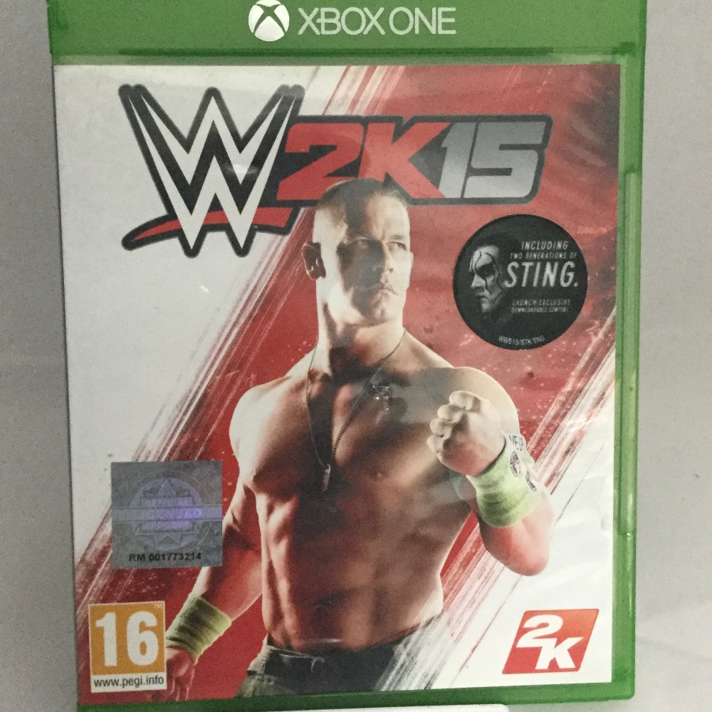 Product photo for WWE 2K15