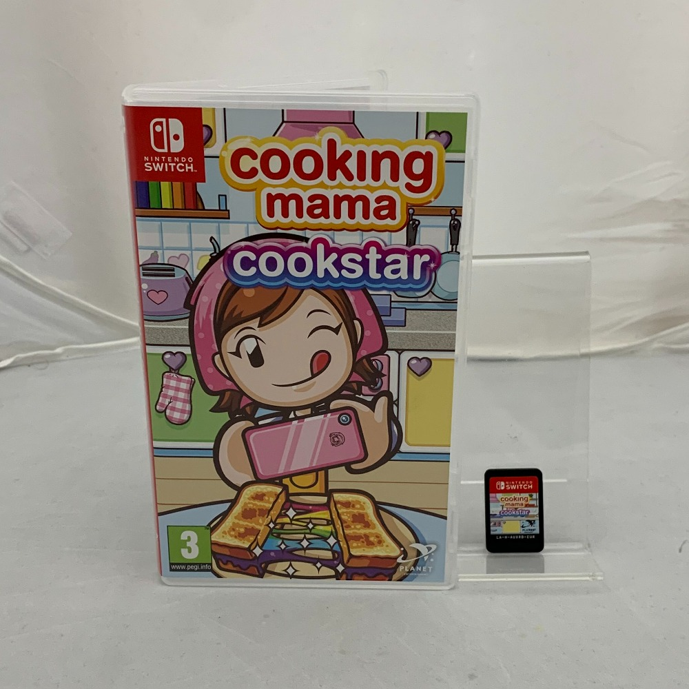 Product photo for Cooking Mama Cookstar (Nintendo Switch)