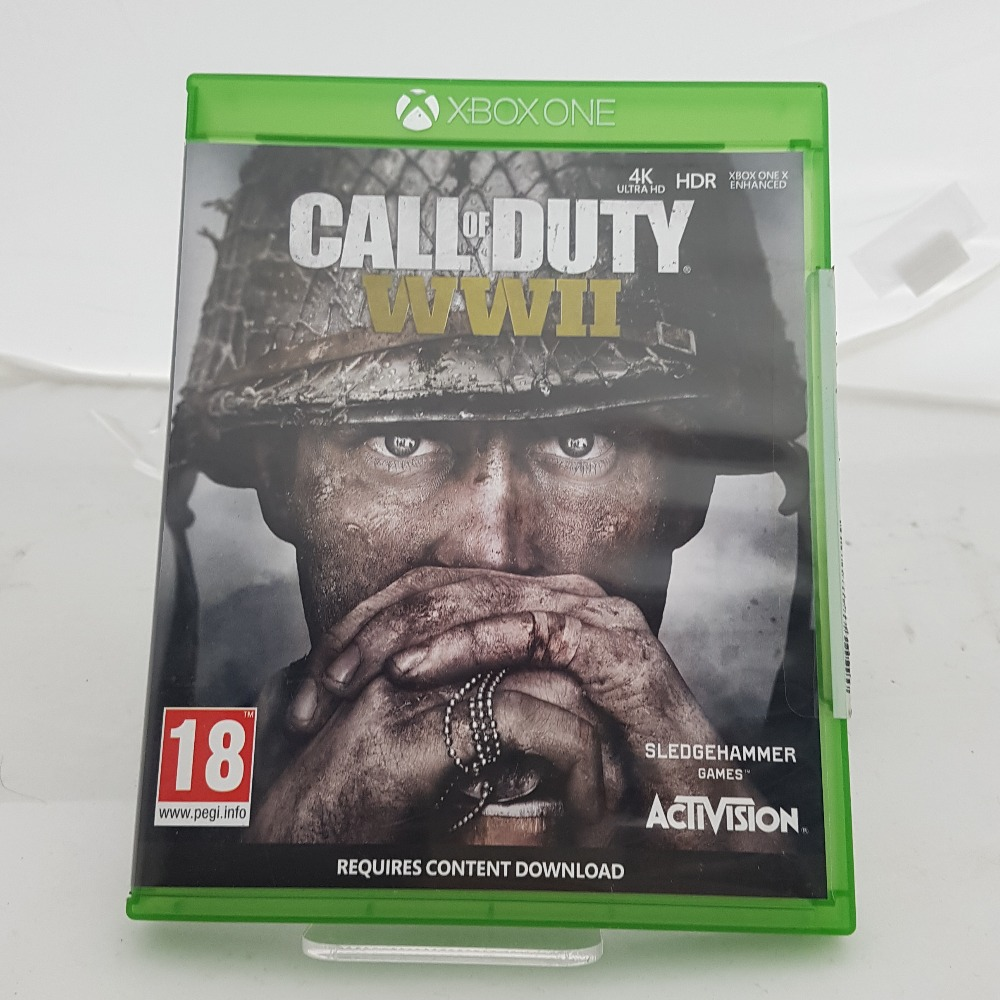 Product photo for Xbox Call of duty WW2