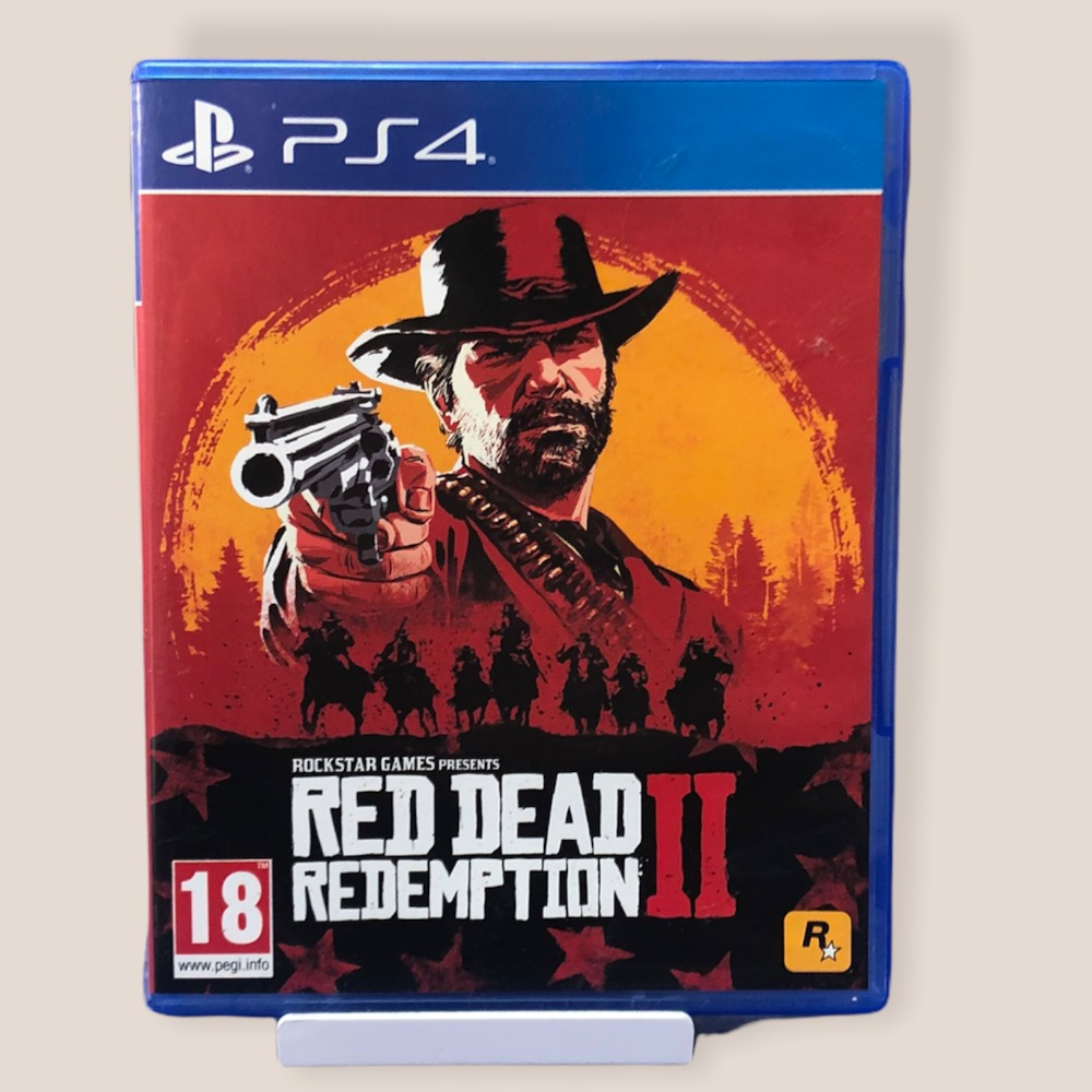 Product photo for PS4 Game Red Dead Redemption II