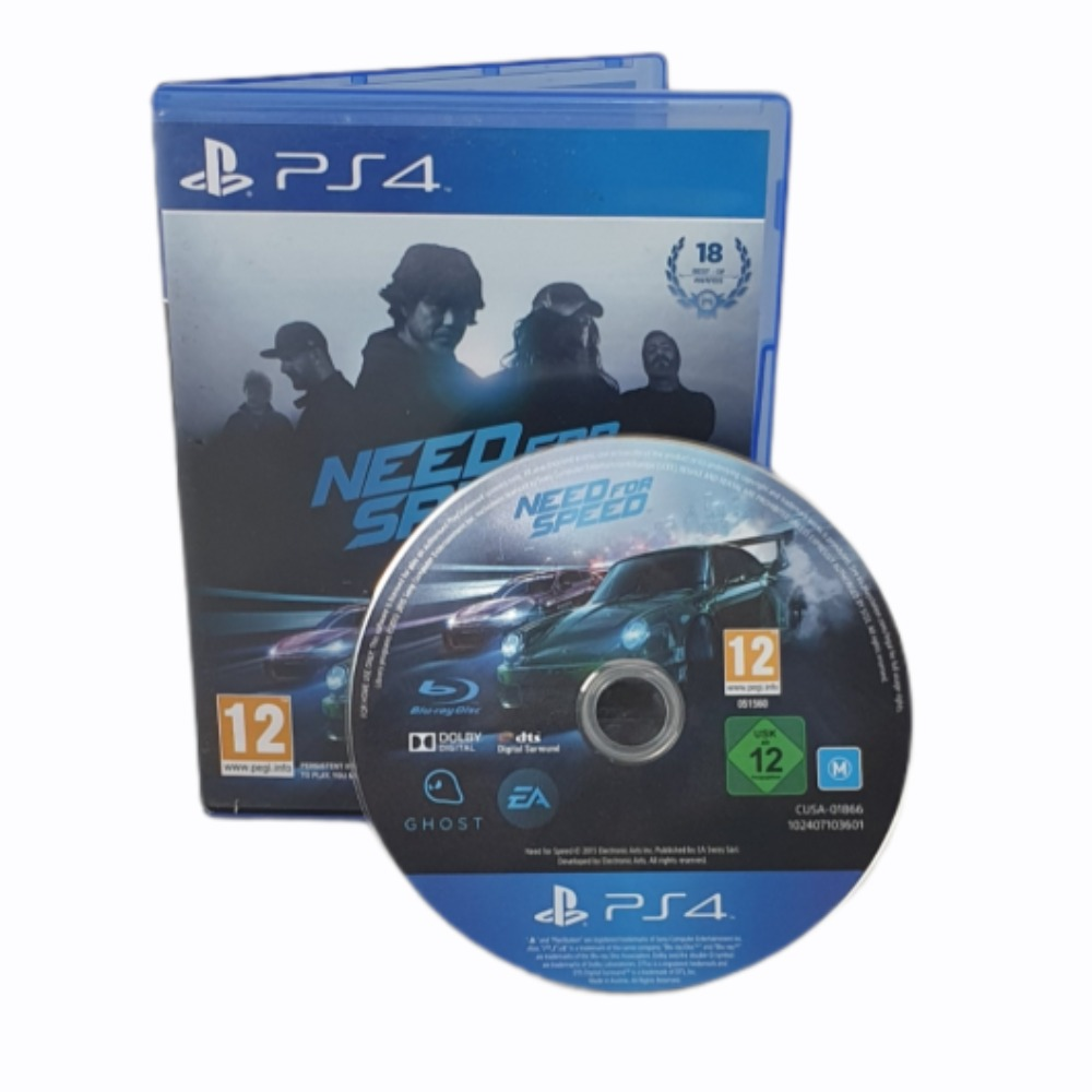 Product photo for Need For Speed - PlayStation 4 Game