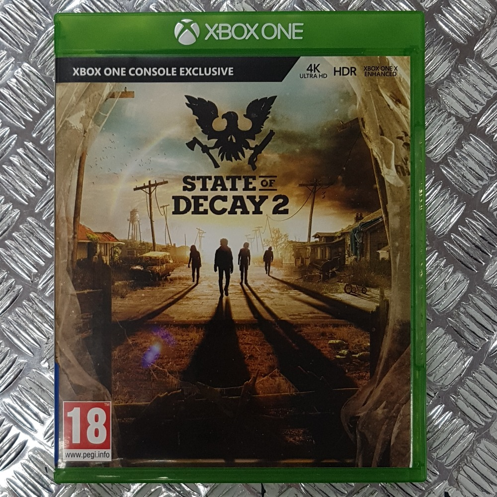 Product photo for State Of Decay 2 (XBOX ONE)