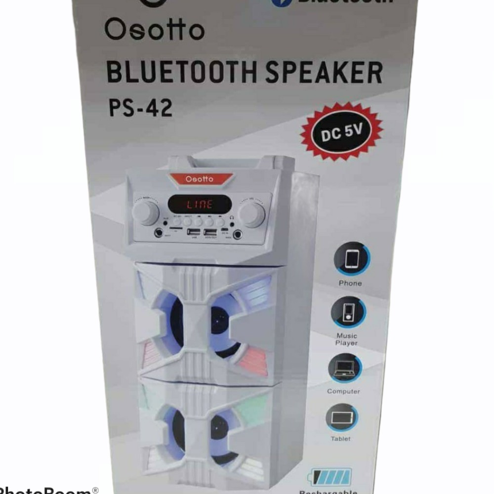 Product photo for Osotto PS-42 bluetooth speaker