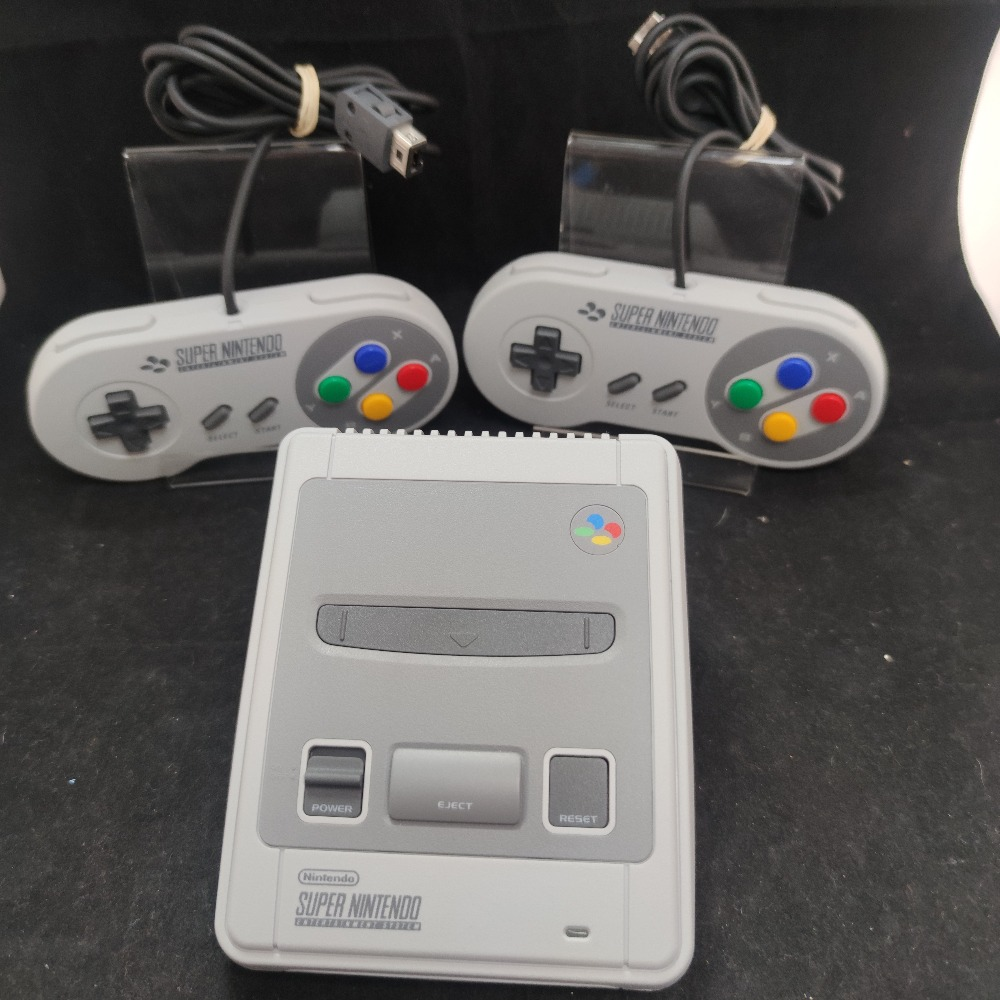 Product photo for Nintendo SNES Mini