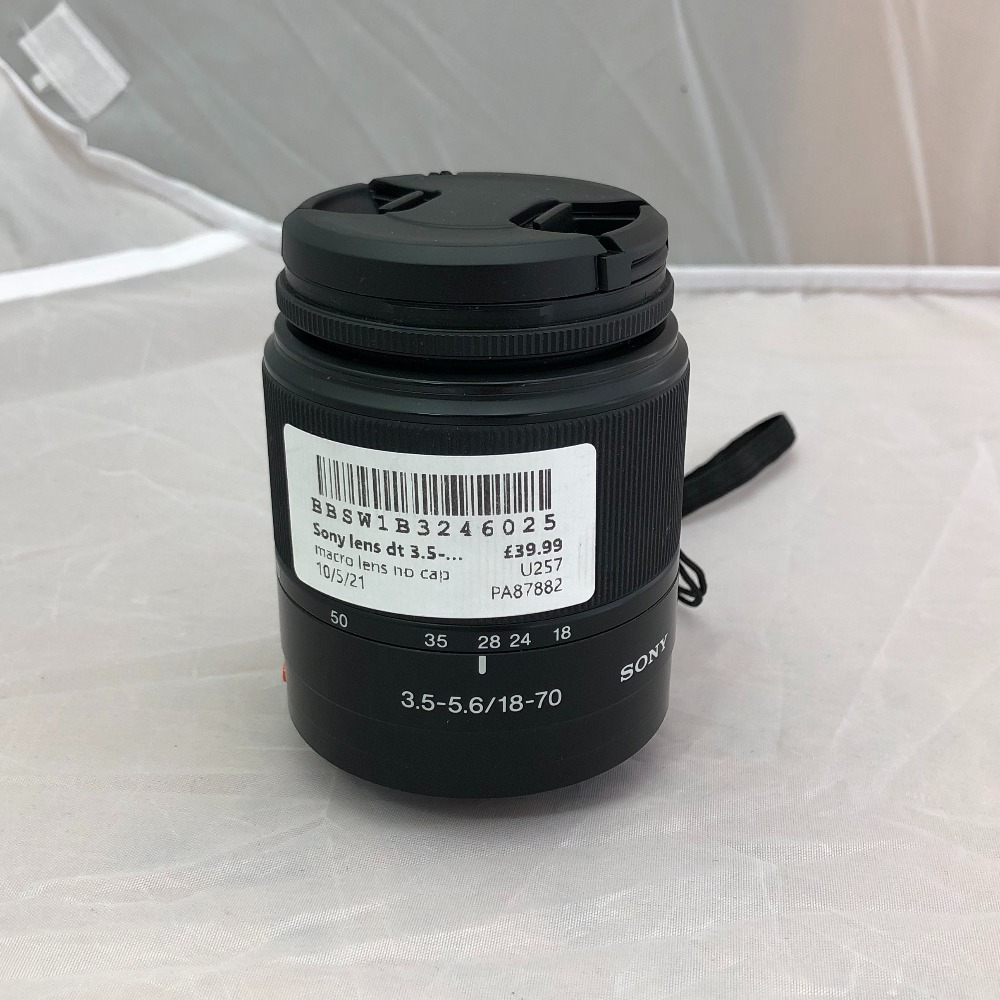 Product photo for Sony Sony lens dt 3.5-5.6/18-70