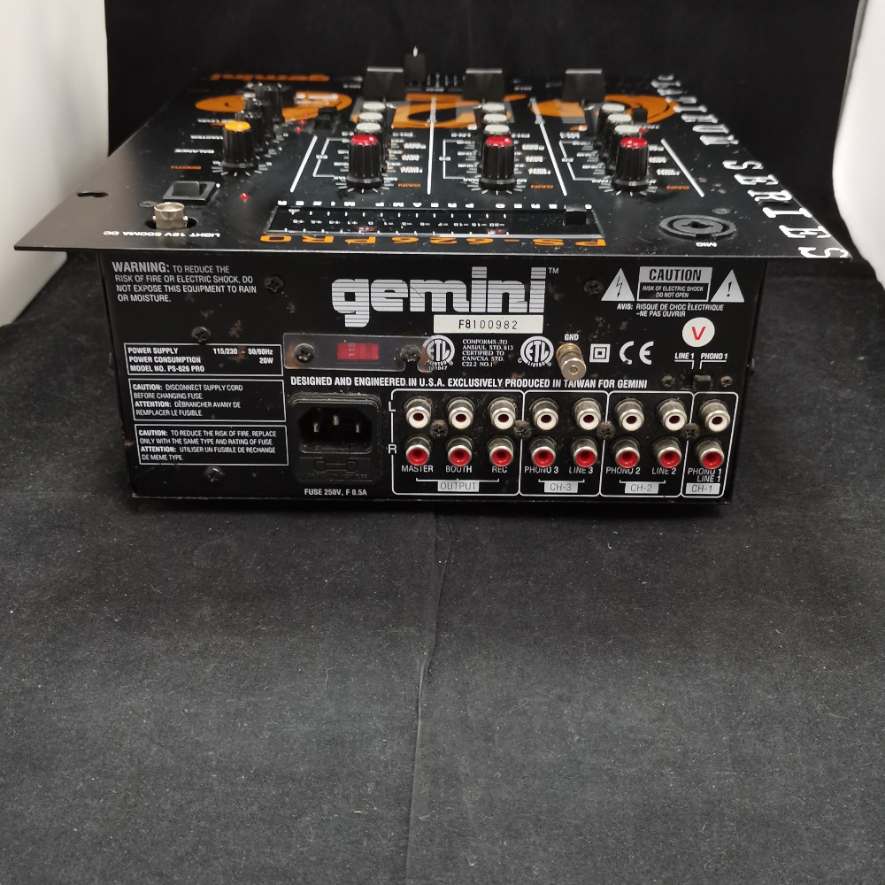 Product photo for Gemini PS-626