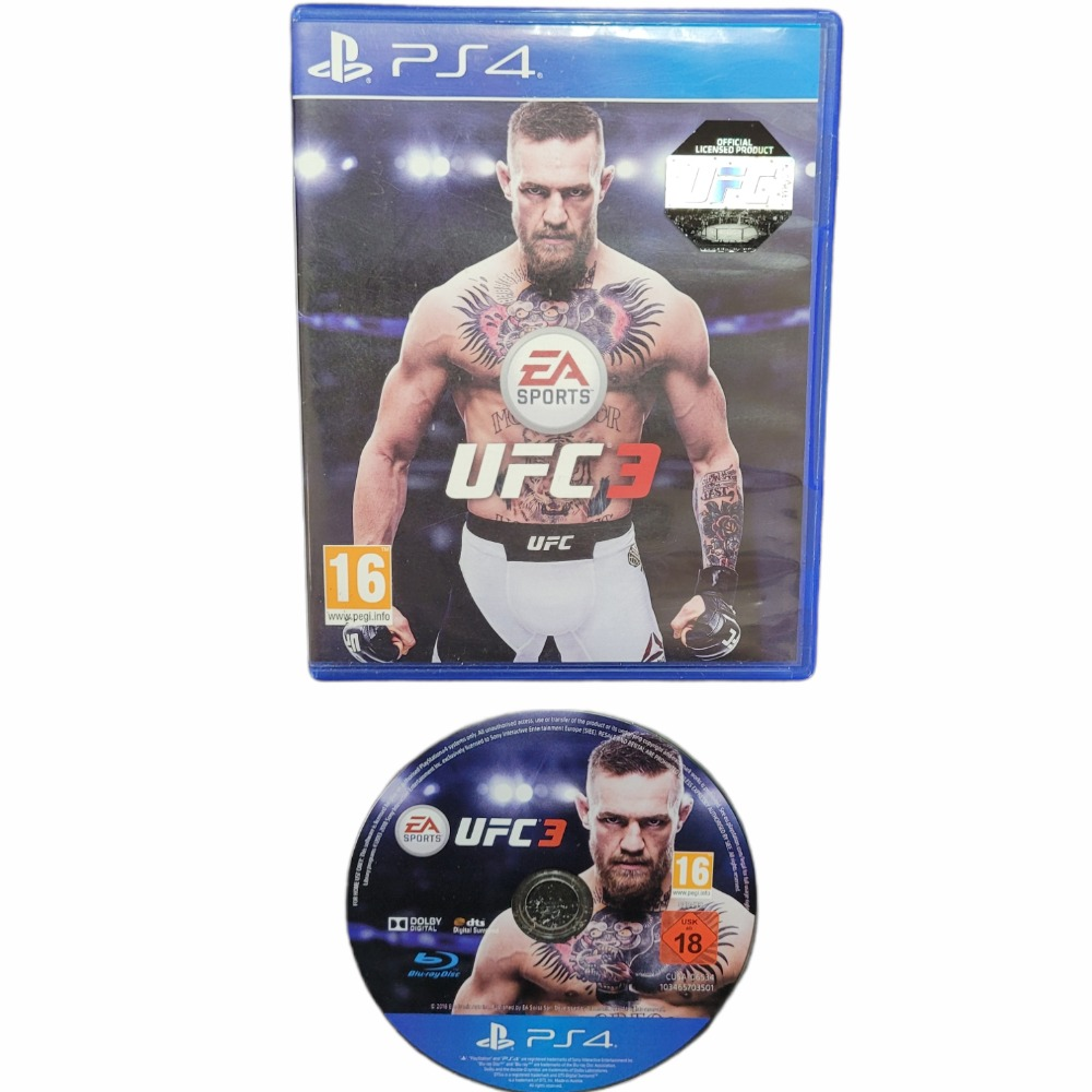 Product photo for UFC 3 PS4