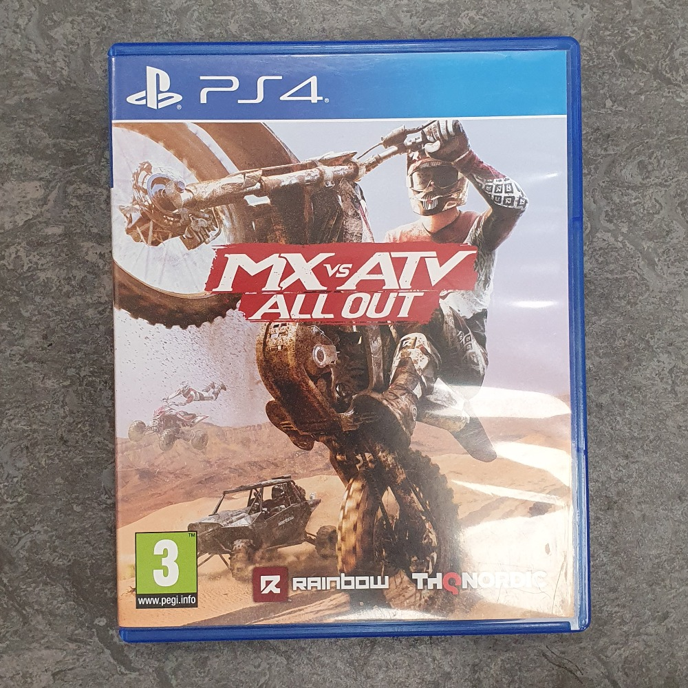 Product photo for Mx Vs. Atv All Out (PS4)