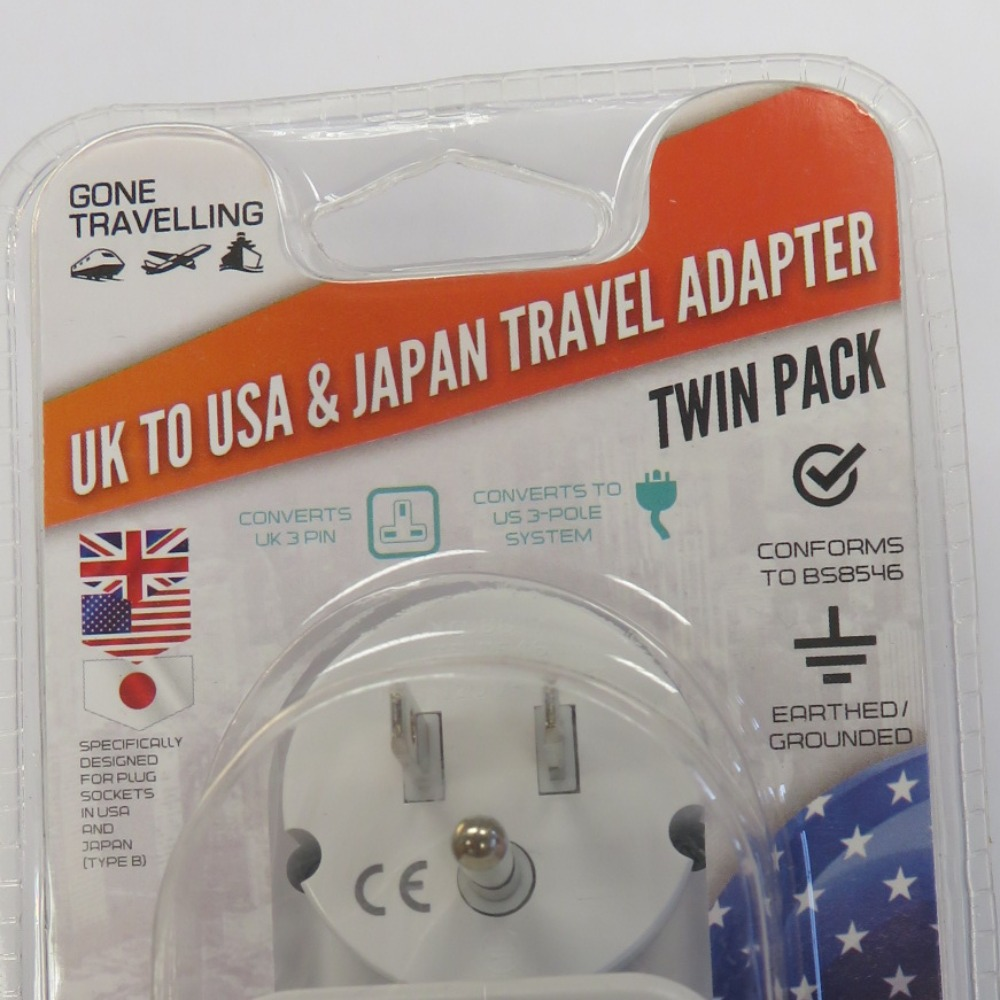 Product photo for travel adaptor usa