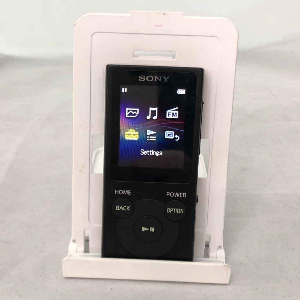 Product photo for sony mp3 (NW-E394)