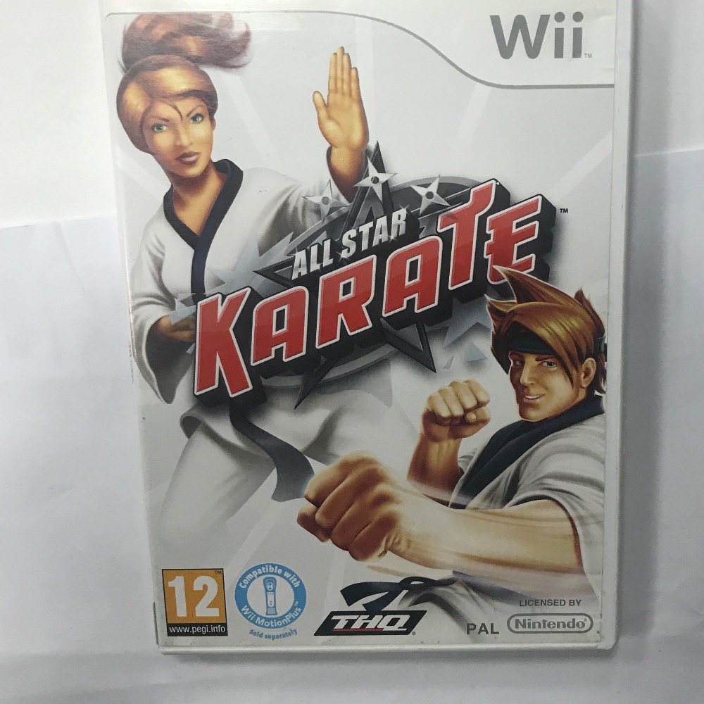 Product photo for Nintendo wii Wii Game all star karate