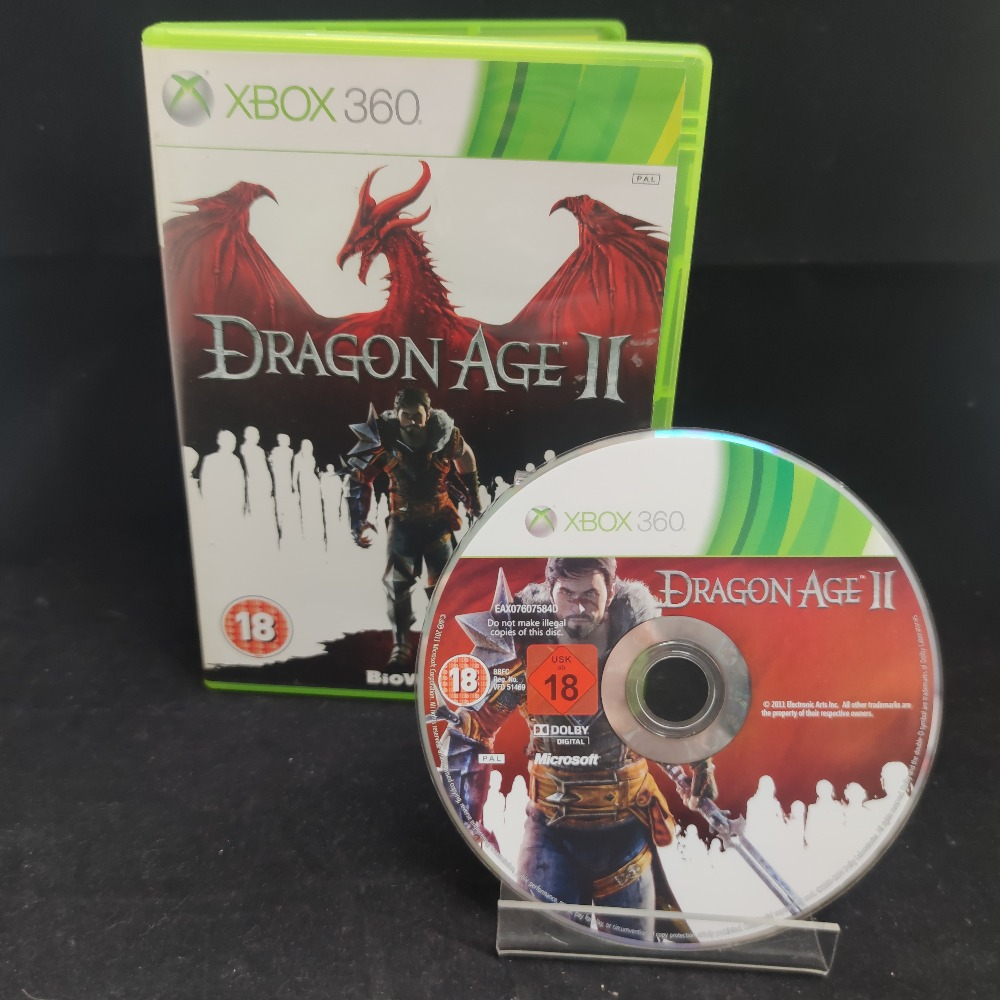 Product photo for  Microsoft Xbox 360 game Dragon Age 2