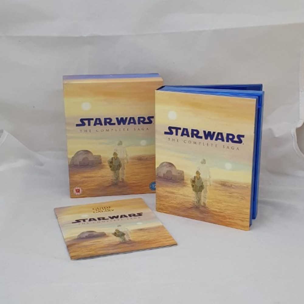 Product photo for Star Wars The Complete Sage - Blu-ray