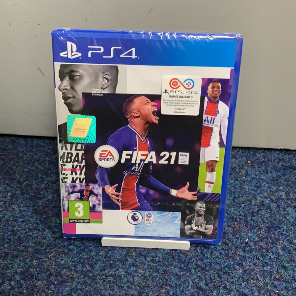 Product photo for PlayStation 4 Game Fifa 21 PS4