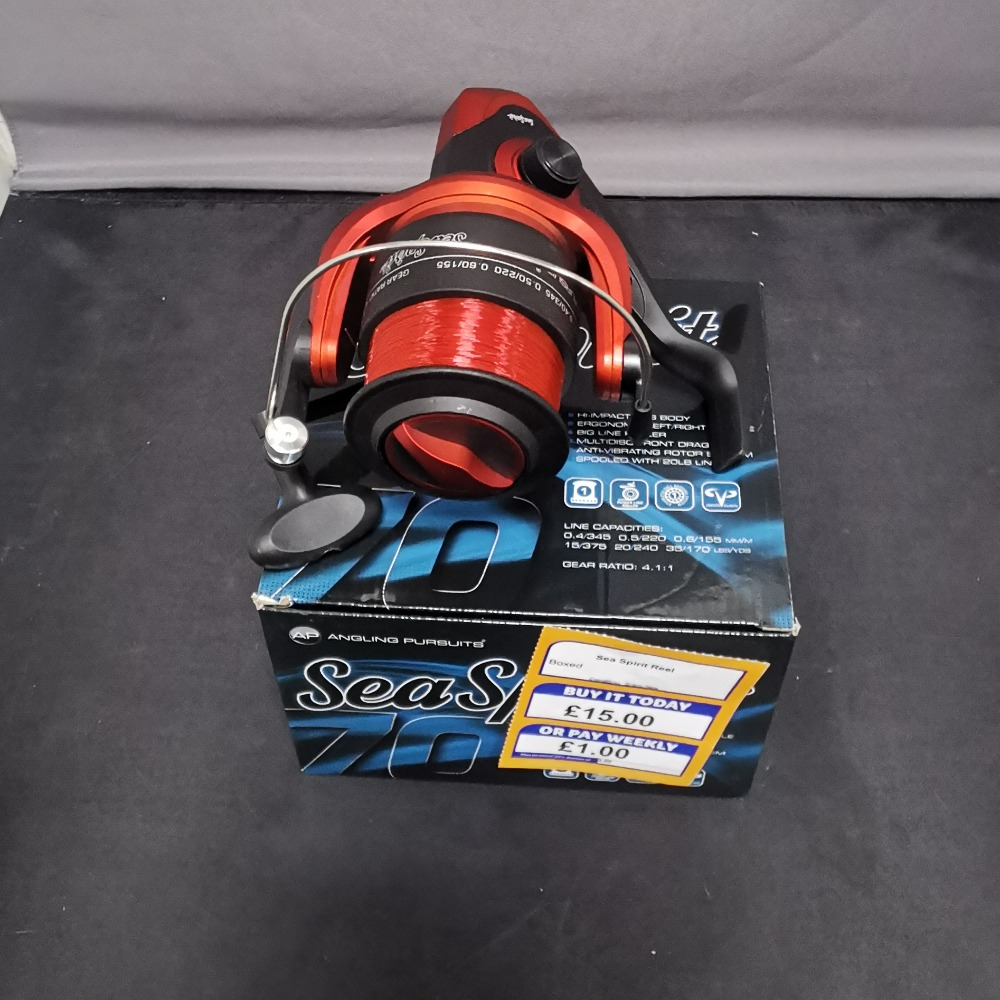 Product photo for Angling Pursuits Sea Spirit 70 Reel