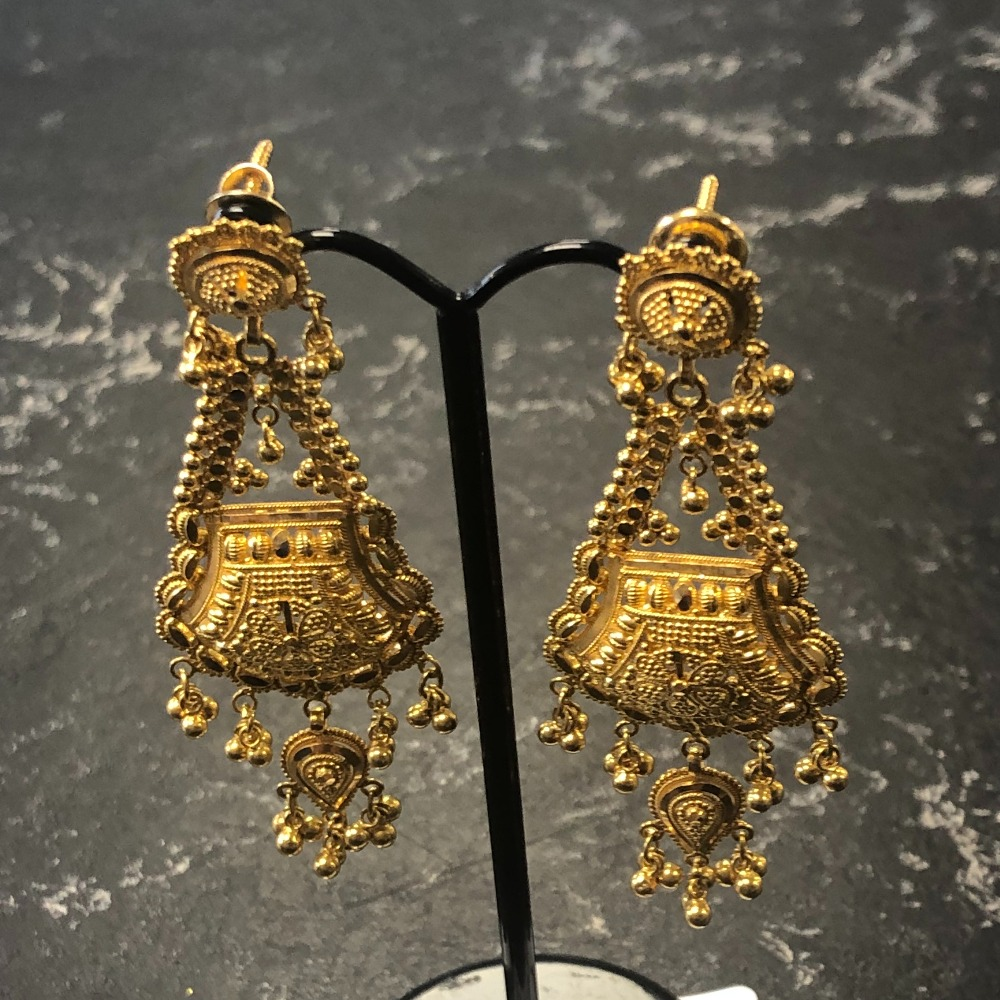 Product photo for 22ct Earrings 18.64g
