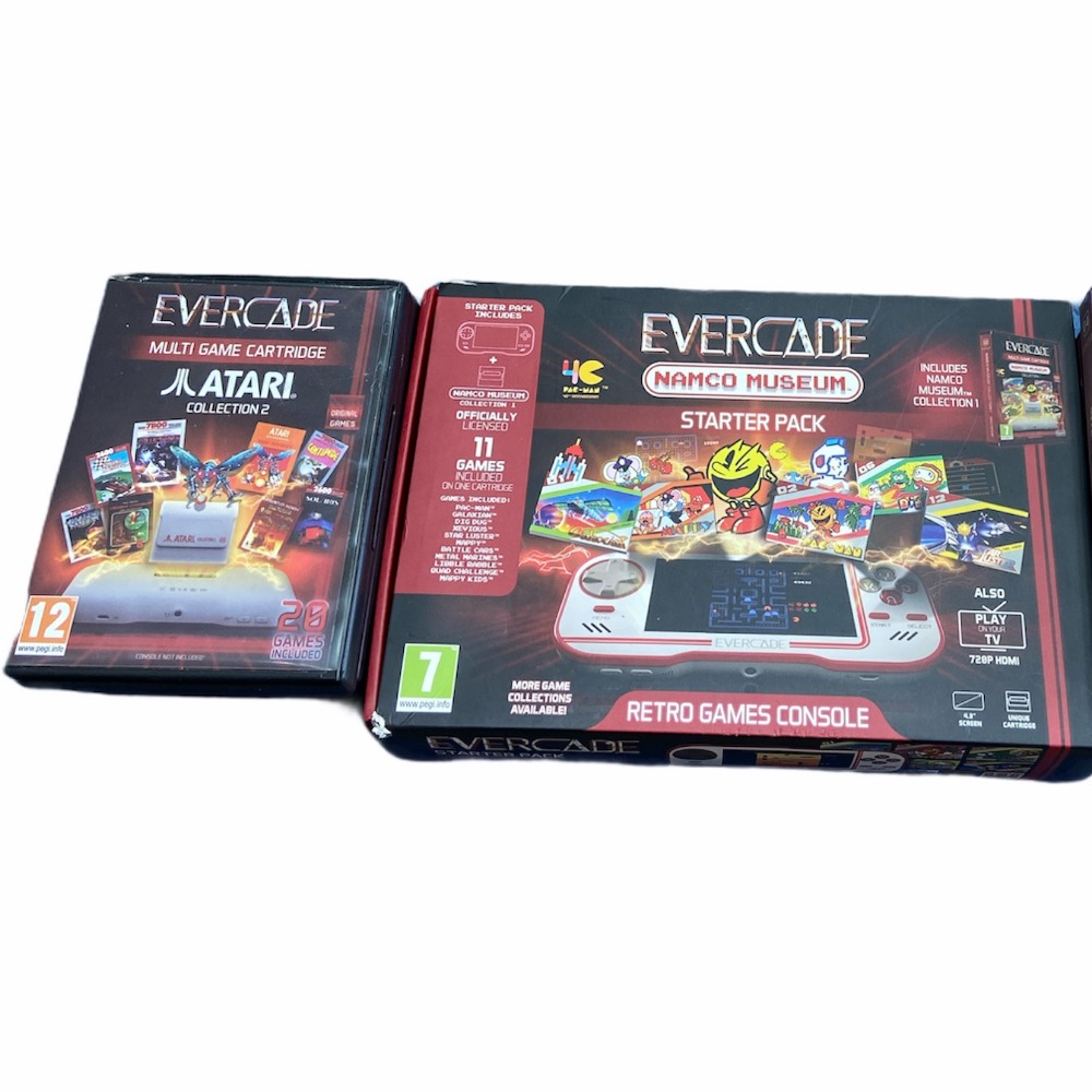 Product photo for Evercade Namco Museum Start Packer
