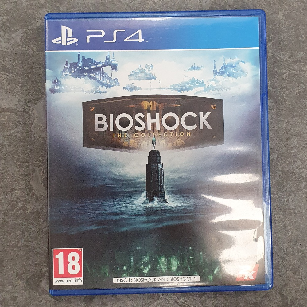 Product photo for Bioshock The Collection (PS4)