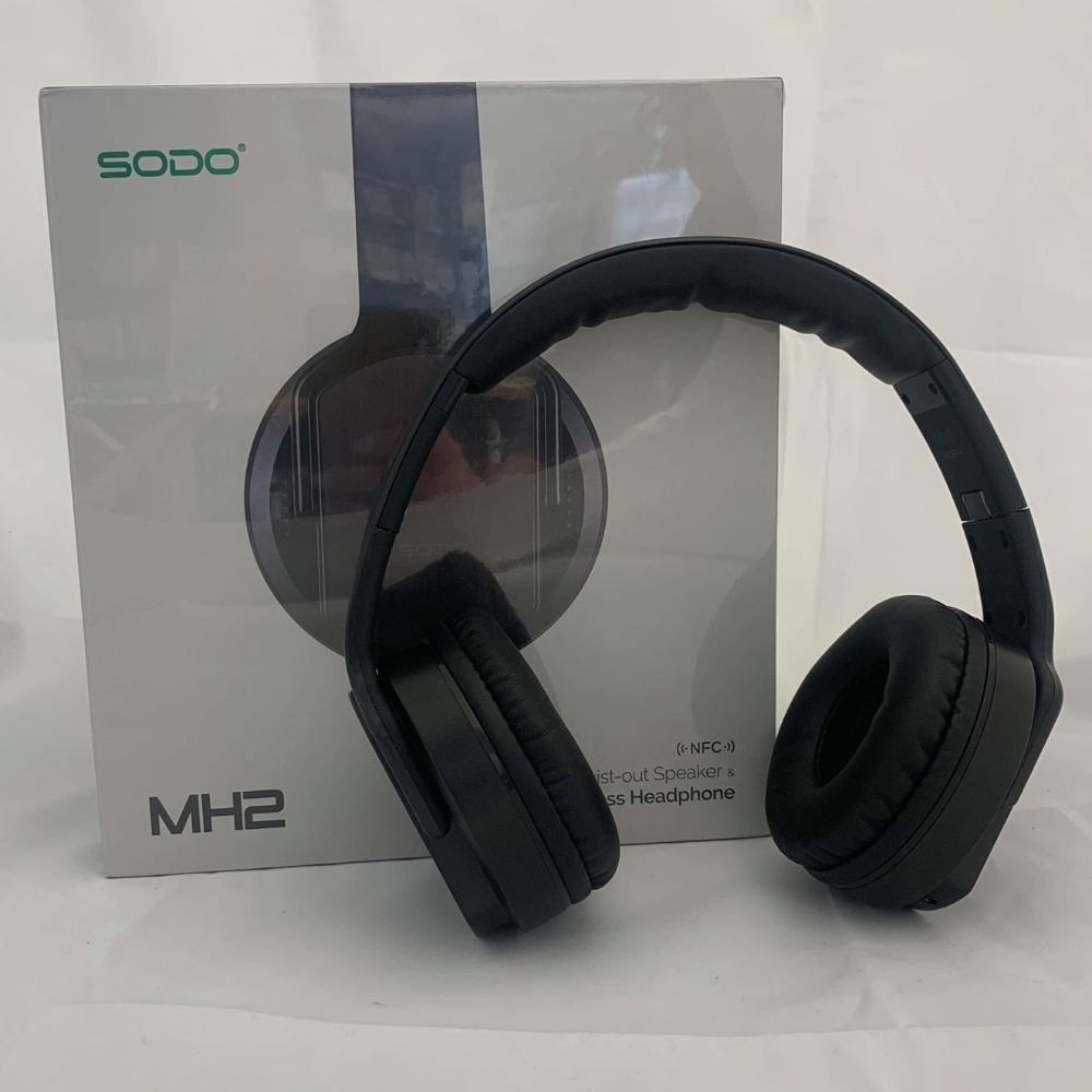 Product photo for Sodo BLACK FRIDAY Sodo Wireless Headphone WAS £24.99