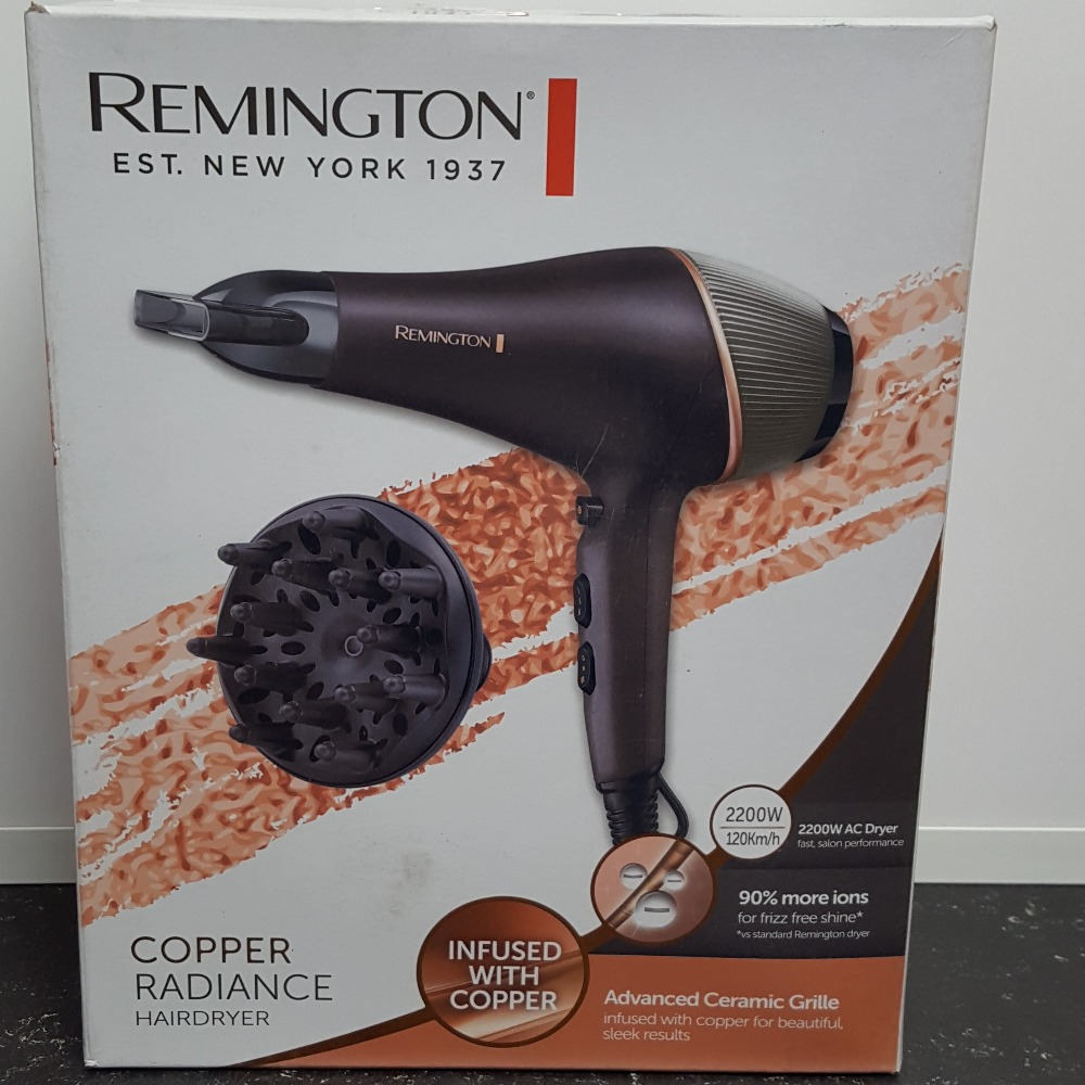 Product photo for Remington Hairdryer