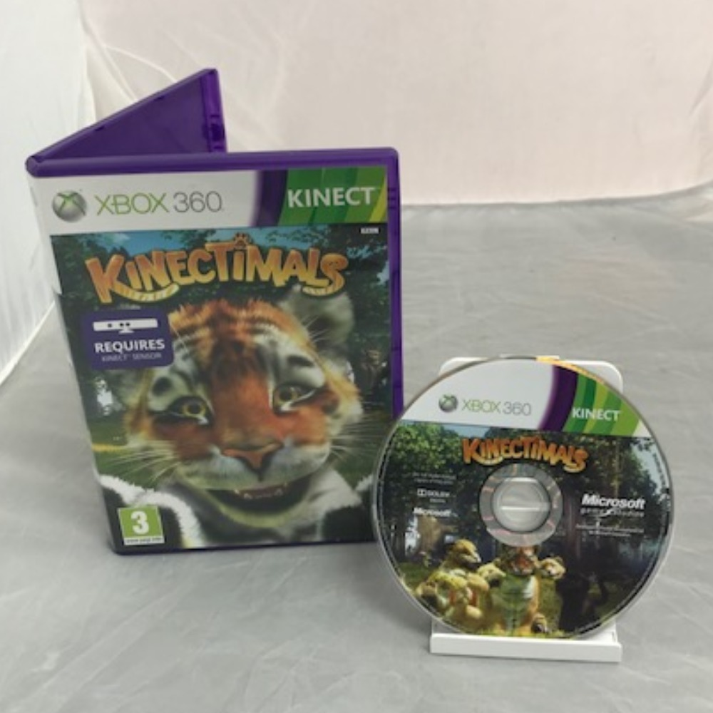 Product photo for Xbox 360 Game Kinectimals