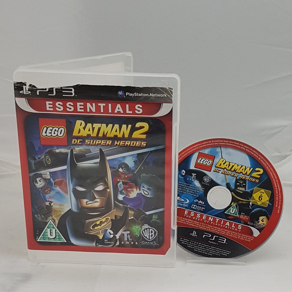 Product photo for Playstation 3 Game LEGO Batman 2 DC Super Heroes (PS3)