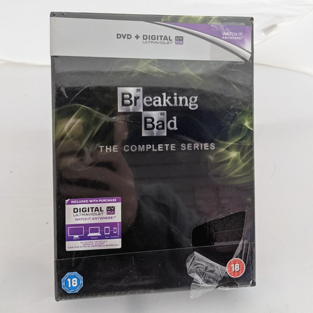 Product photo for DVD  Breaking Bad Complete (Includes Digital Ultraviolet)