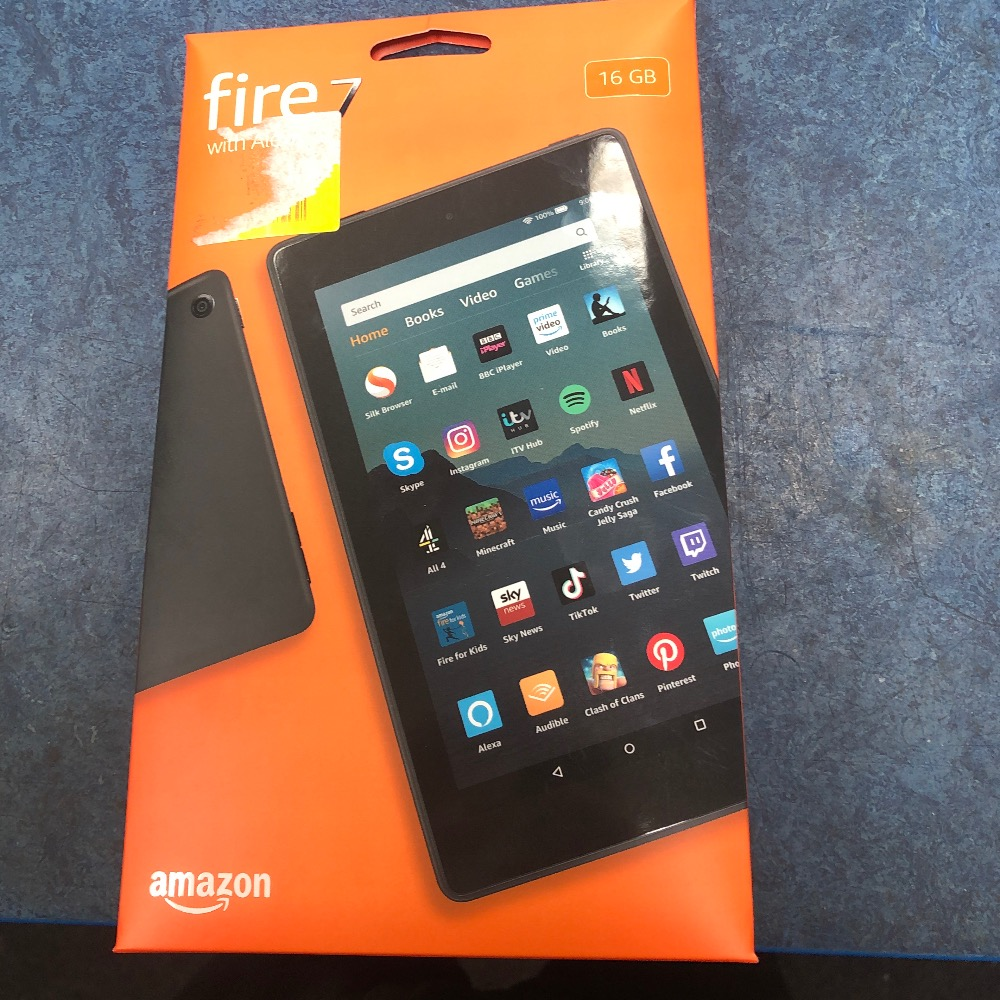Product photo for Amazon Fire Tablet