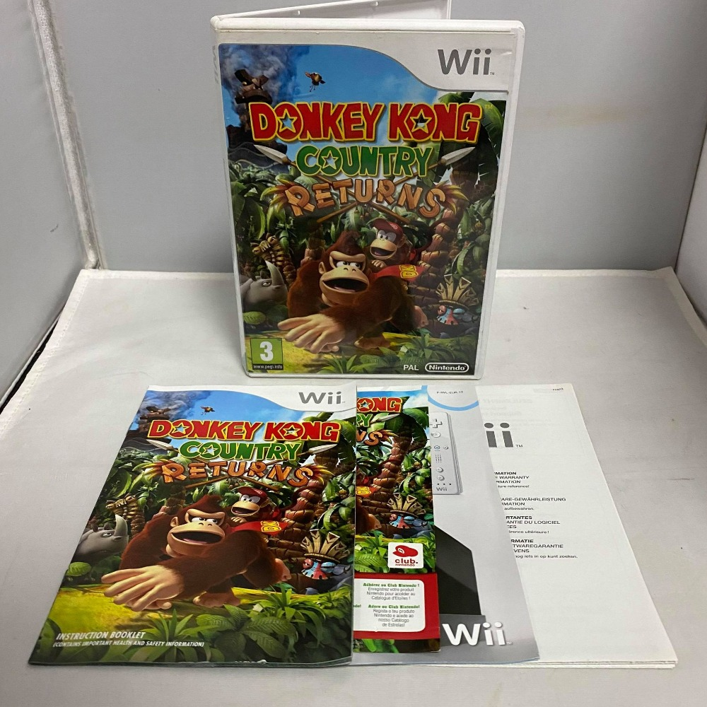 Product photo for Nintendo Wii Donkey Kong Country Returns