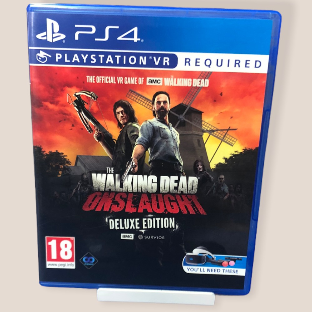 Product photo for PS4 Game Walking Dead, The: Onslaught