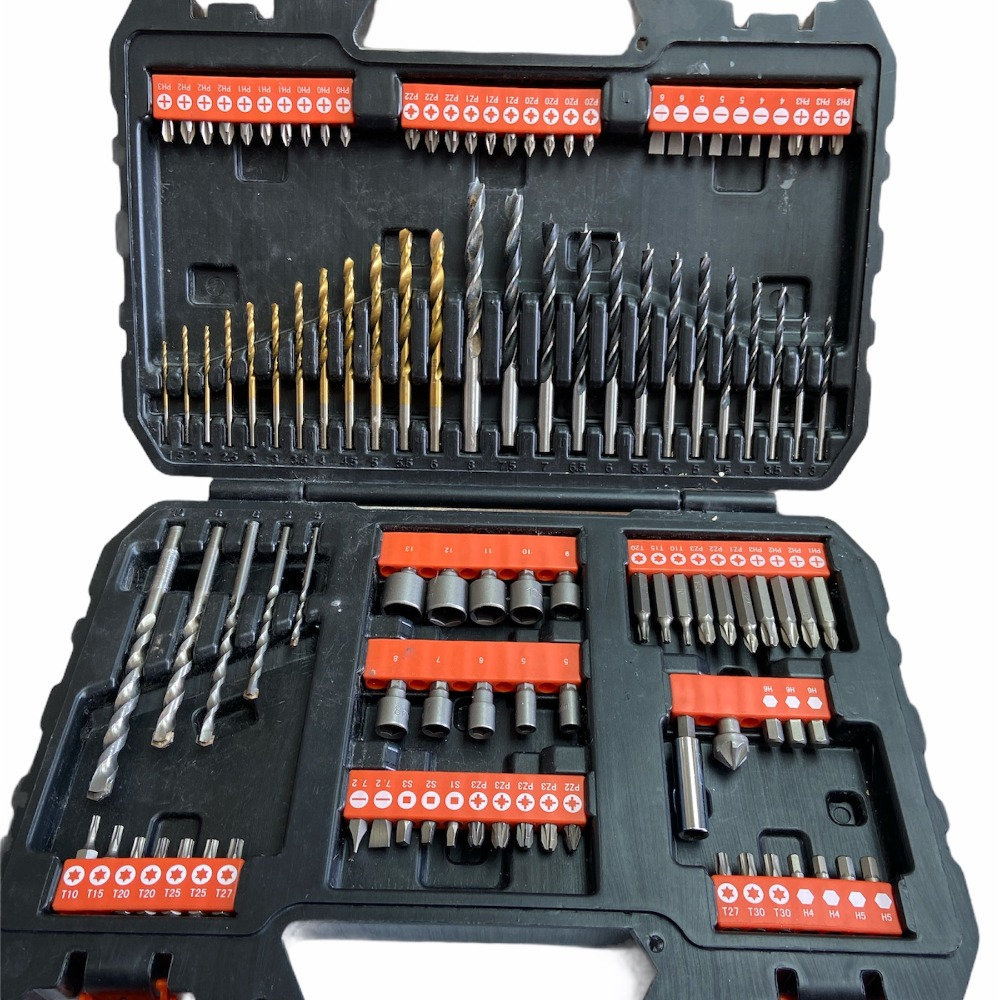 Product photo for Black & Decker Drill and Drill bits