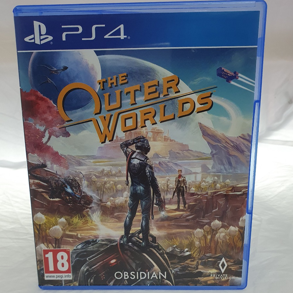 Product photo for PlayStation 4  The Outer Worlds PS4 Game