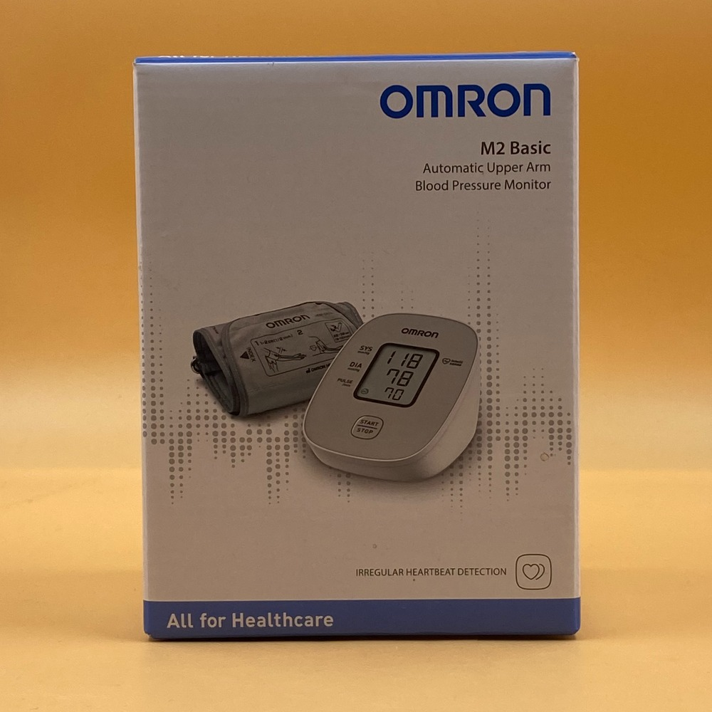 Product photo for OMRON M2 BASIC AUTOMATIC UPPER ARM BLOOD PRESSURE MONITOR
