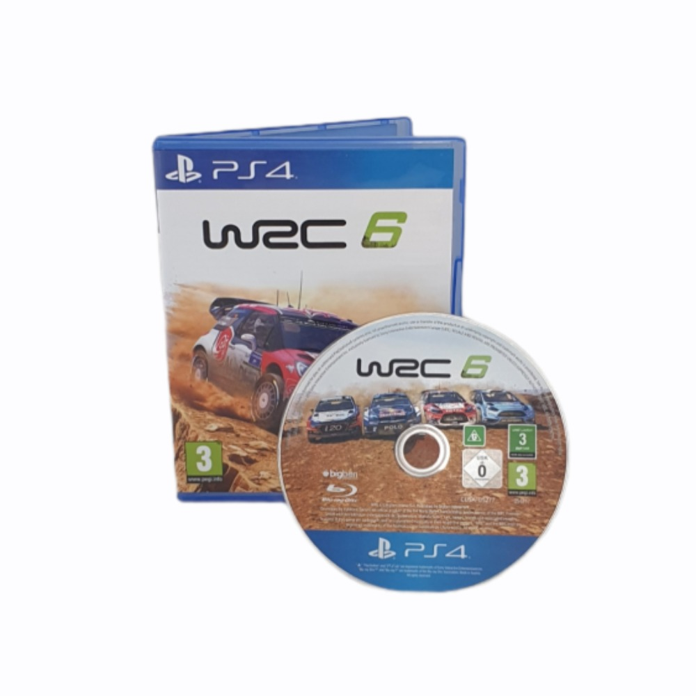 Product photo for WRC 6 - Sony PlayStation 4 Game