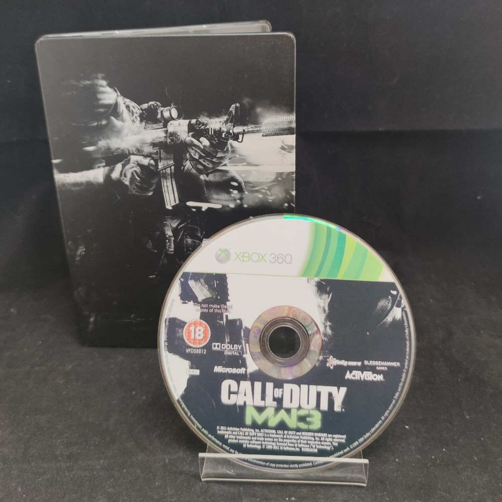 Product photo for  Microsoft Xbox 360 game COD Modern Warfare 3